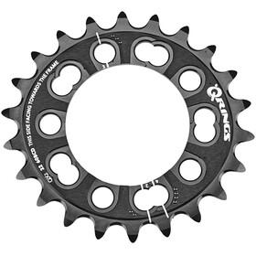 Rotor MTB QX2 Drev 2-delad inner svart